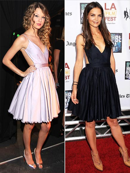TAYLOR VS. KATIE photo | Katie Holmes, Taylor Swift