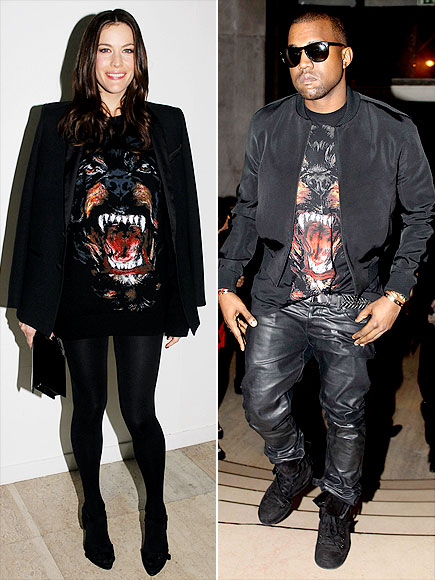 LIV VS. KANYE photo | Kanye West, Liv Tyler