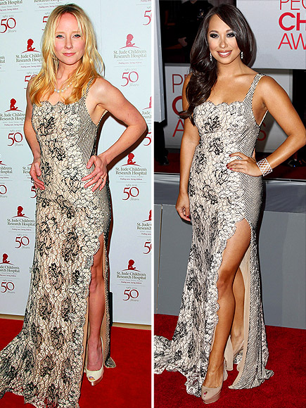 ANNE VS. CHERYL photo | Anne Heche, Cheryl Burke