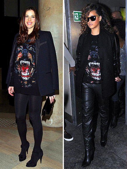 LIV VS. RIHANNA photo | Liv Tyler, Rihanna