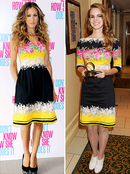 SARAH JESSICA VS. LANA photo | Lana Del Rey, Sarah Jessica Parker