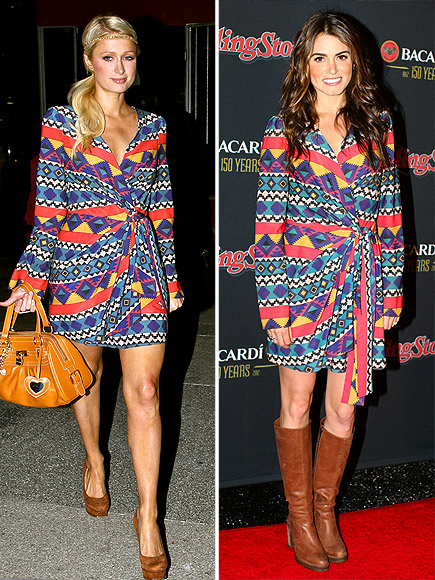 PARIS VS. NIKKI photo | Nikki Reed, Paris Hilton