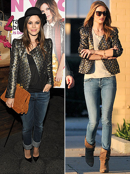 RACHEL VS. ROSIE photo | Rachel Bilson, Rosie Huntington-Whiteley