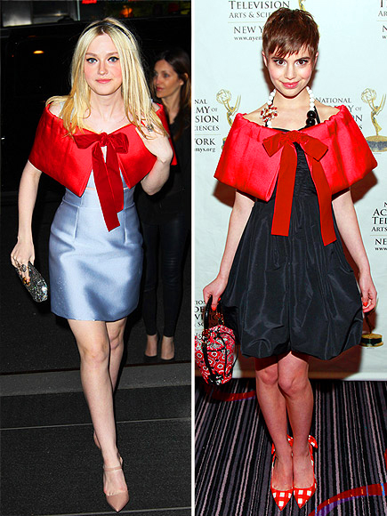 DAKOTA VS. SAMI photo | Dakota Fanning, Sami Gayle