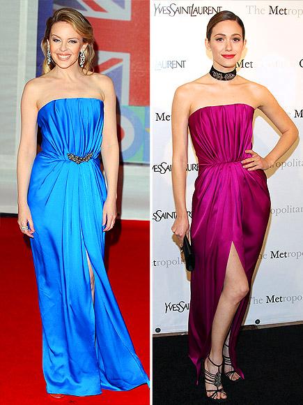KYLIE VS. EMMY photo | Emmy Rossum, Kylie Minogue