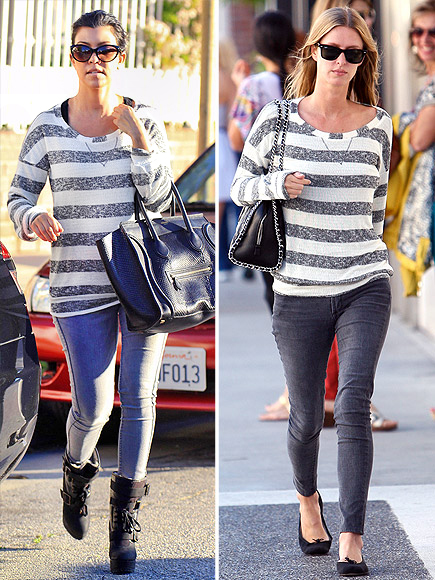 KOURTNEY VS. NICKY photo | Kourtney Kardashian, Nicky Hilton