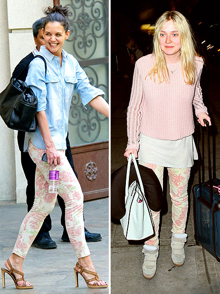 KATIE VS. DAKOTA photo | Dakota Fanning, Katie Holmes