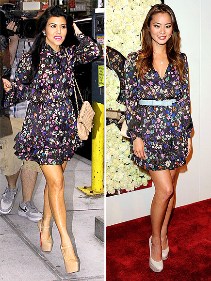 KOURTNEY VS. JAMIE photo | Jamie Chung, Kourtney Kardashian
