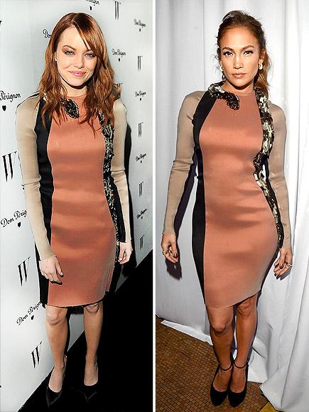 EMMA VS. JENNIFER photo | Emma Stone, Jennifer Lopez