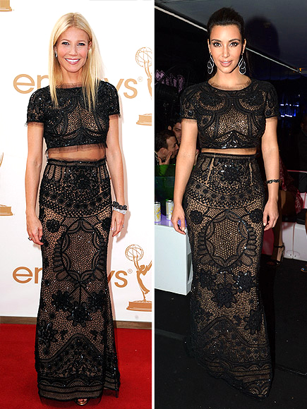 GWYNETH VS. KIM photo | Gwyneth Paltrow, Kim Kardashian