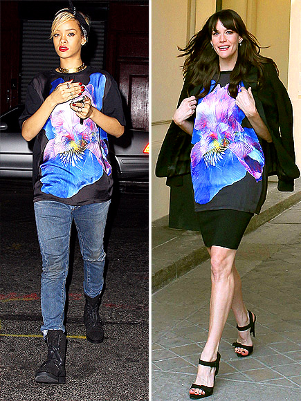 RIHANNA VS. LIV photo | Liv Tyler, Rihanna