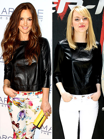 MINKA VS. EMMA photo | Emma Stone, Minka Kelly