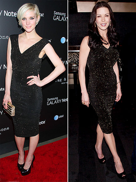 ASHLEE VS. CATHERINE photo | Ashlee Simpson, Catherine Zeta-Jones