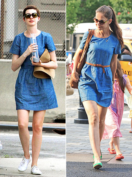 ANNE VS. KATIE   photo | Anne Hathaway, Katie Holmes