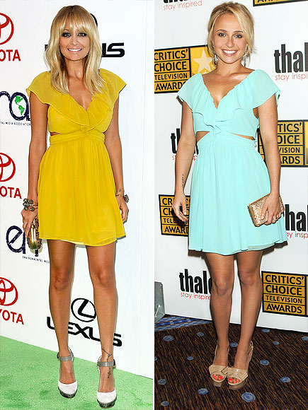 NICOLE VS. HAYDEN photo | Hayden Panettiere, Nicole Richie