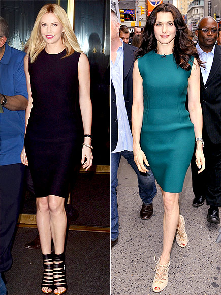 CHARLIZE VS. RACHEL photo | Charlize Theron, Rachel Weisz