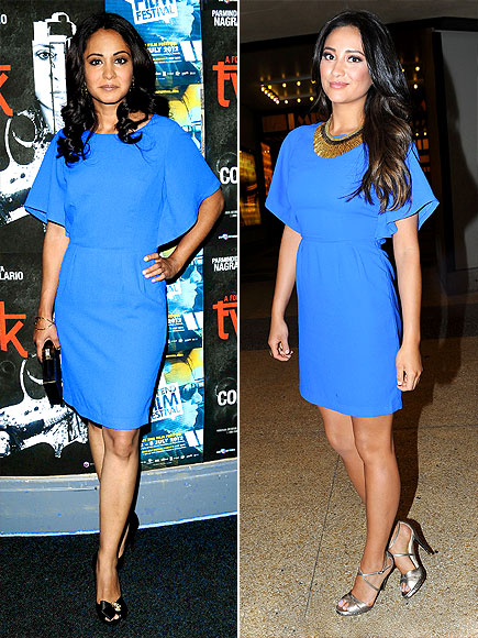 PARMINDER VS. SHAY  photo | Parminder Nagra, Shay Mitchell