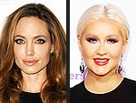 25 Freaking Awesome Fashion Faceoffs | Angelina Jolie, Christina Aguilera