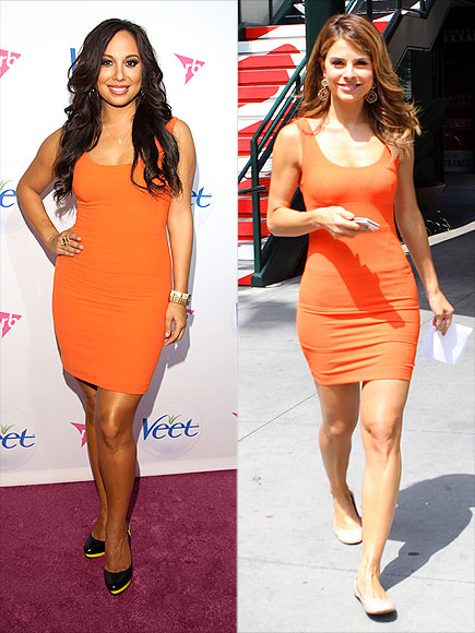 CHERYL VS. MARIA photo | Cheryl Burke, Maria Menounos