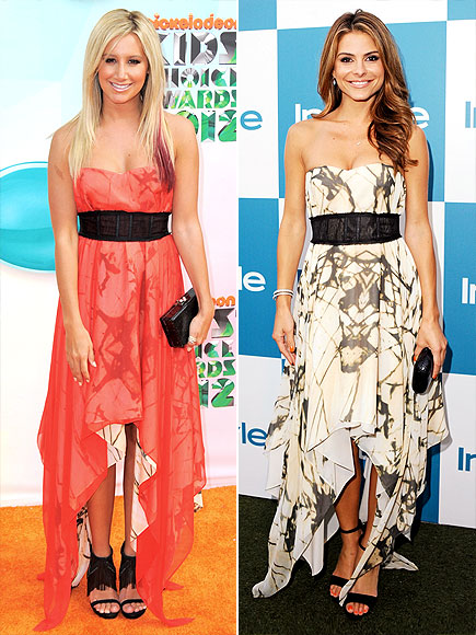 ASHLEY VS. MARIA photo | Ashley Tisdale, Maria Menounos