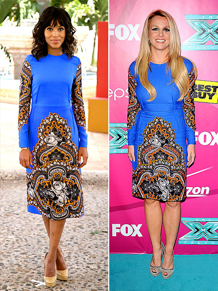 KERRY VS. BRITNEY photo | Britney Spears, Kerry Washington