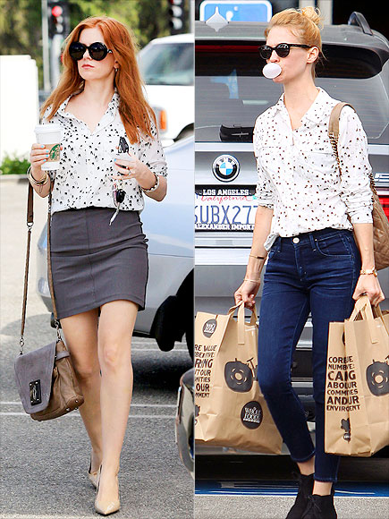 ISLA VS. JANUARY photo | Isla Fisher, January Jones