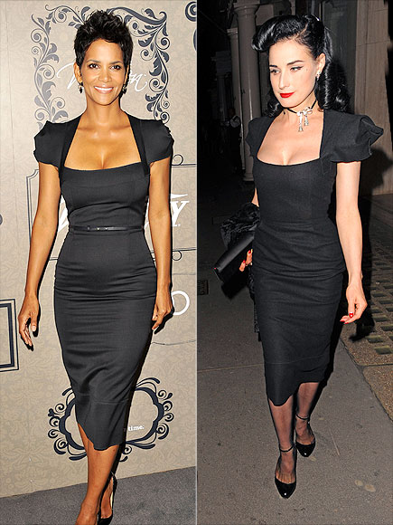HALLE VS. DITA photo | Dita Von Teese, Halle Berry