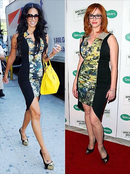 KIMORA VS. CHRISTINA photo | Christina Hendricks, Kimora Lee Simmons