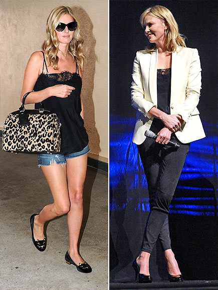 NICKY VS. CHARLIZE photo | Charlize Theron, Nicky Hilton