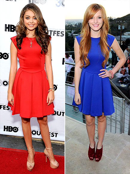 SARAH VS. BELLA photo | Bella Thorne, Sarah Hyland