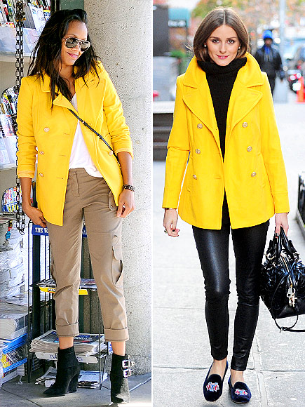ZOË VS. OLIVIA photo | Olivia Palermo, Zoe Saldana