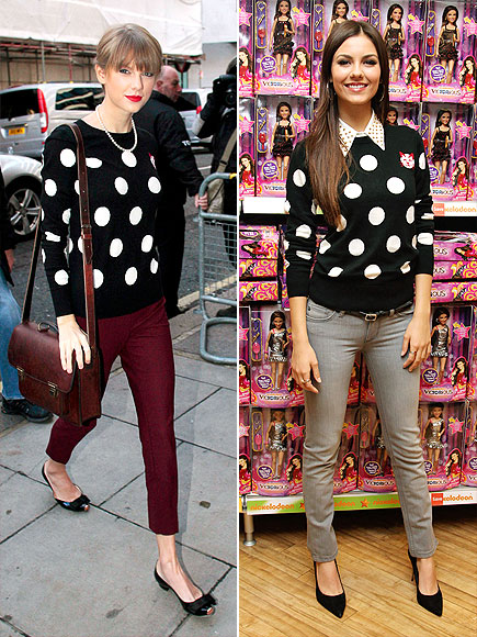 TAYLOR VS. VICTORIA photo | Taylor Swift, Victoria Justice