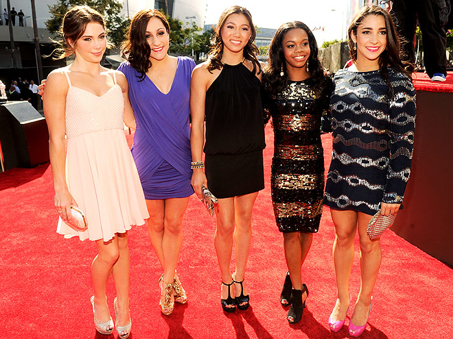 THE FAB FIVE photo | Aly Raisman, Gabrielle Douglas, Jordyn Wieber, Kyla Ross, McKayla Maroney
