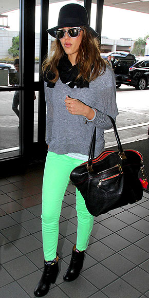 SEEING GREEN photo | Jessica Alba