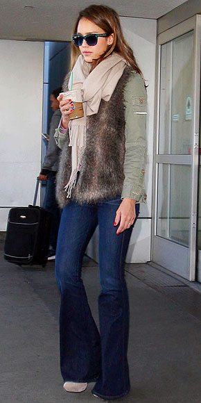 FUR REAL photo | Jessica Alba