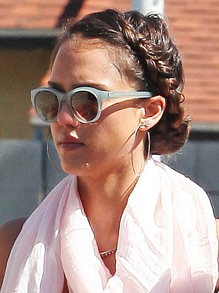 THE DUTCH BRAID photo | Jessica Alba