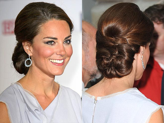THE REGAL CHIGNON photo | Kate Middleton