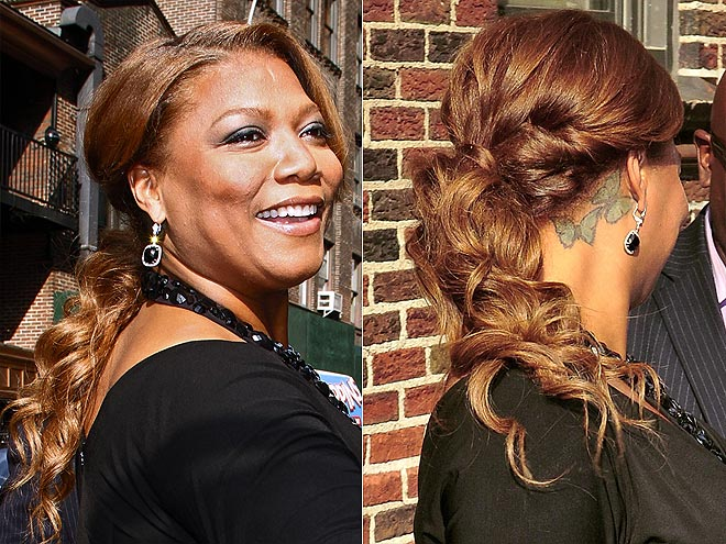 THE PERFECT LOW PONY photo | Queen Latifah