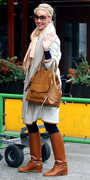 CAMEL BOOTS photo | Katherine Heigl