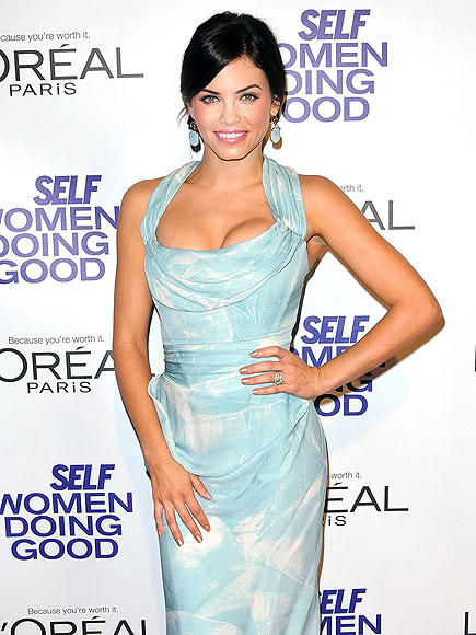 DRAPED & FASHION-TAPED photo | Jenna Dewan