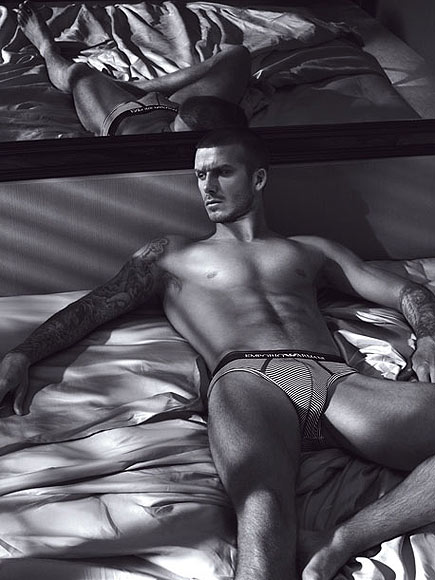 BEDSIDE MANNER photo | David Beckham