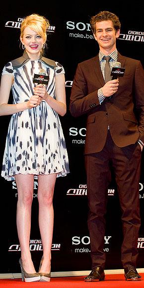 THEY'VE GOT SEOUL photo | Andrew Garfield, Emma Stone