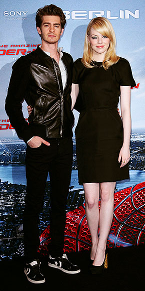 BACK IN BLACK IN BERLIN photo | Andrew Garfield, Emma Stone