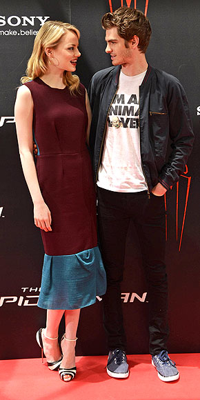 MORE LOVE FOR MADRID photo | Andrew Garfield, Emma Stone