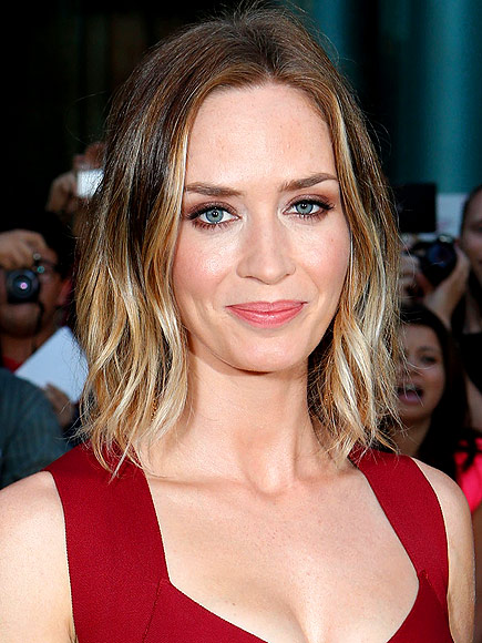 TWO-TONE HAIR photo | Emily Blunt