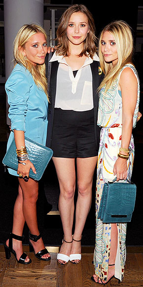 ELIZABETH LOVES MARY-KATE & ASHLEY photo | Ashley Olsen, Elizabeth Olsen, Mary-Kate Olsen