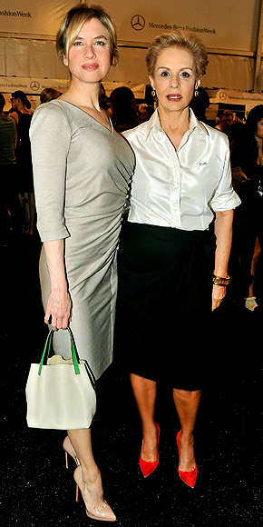 RENE &amp; CAROLINA HERRERA photo | Carolina Herrera, Renee Zellweger