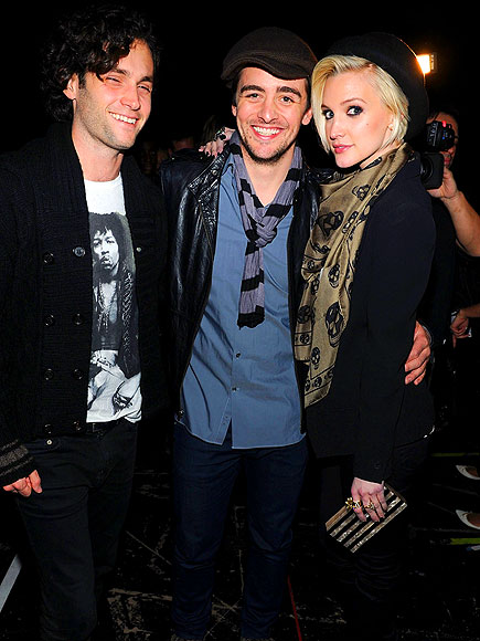KOHL'S FOR ROCK & REPUBLIC SHOW photo | Ashlee Simpson, Penn Badgley, Vincent Piazza