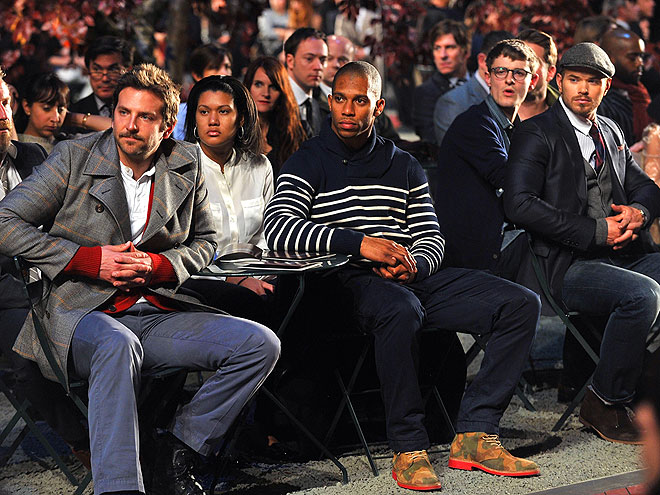 TOMMY HILFIGER FRONT ROW photo | Bradley Cooper