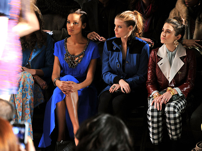 TRACY REESE FRONT ROW photo | Kate Mara, Nikki Reed, Selita Ebanks